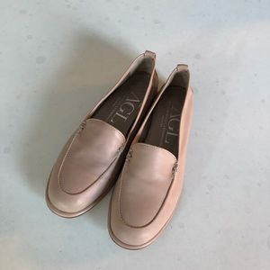 AGL nude loafers, size 38.5